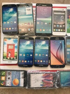 Lot Of 40 Samsung,LG,Motorola, Etc  Non-working Display Phone, Dummy