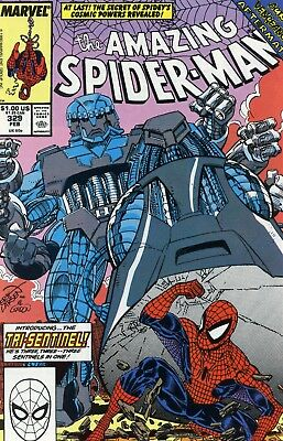 The Amazing Spider-Man #329 NM- 9.2 1990 Marvel See My Store