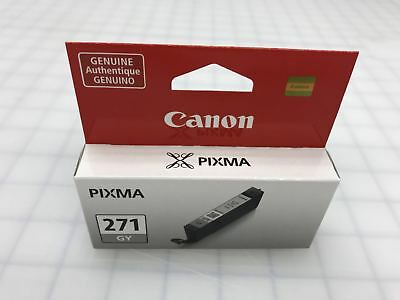 Genuine Canon CLI-271GY CLI-271 GY Gray Ink Cartridge for MG5720 MG5721