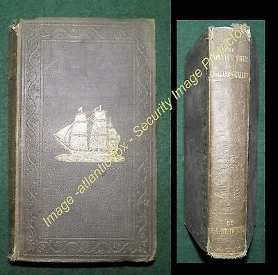 1847 Rare Book THE CONVICT SHIP AND ENGLANDS EXILES, Colin Browning, 2nd Ed