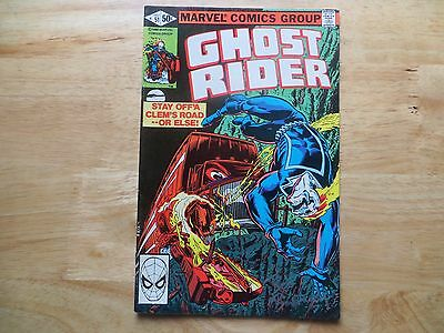 Bronze Age 1980 Marvel Comics Ghost Rider # 51 Signed By Bob Budiansky With Poa