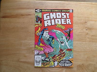 Bronze Age 1981 Marvel Comics Ghost Rider # 59 Signed By Bob Budiansky With Poa
