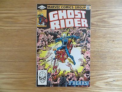 Bronze Age 1982 Marvel Comics Ghost Rider # 70 Signed By Bob Budiansky With Poa