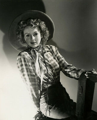 Western Pin-Up Evelyn Keyes Vintage 1943 Desperadoes George Hurrell Photograph