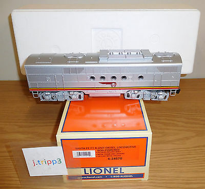 Lionel 6-24570 Santa Fe Sf Ft B Unit Non Powered Diesel O Gauge Train Warbonnet
