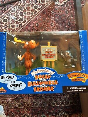 Adventures Of Rocky And Bullwinkle And Friends Figure Set collectors addition