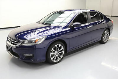 2015 Honda Accord Sport Sedan 4-Door 2015 HONDA ACCORD SPORT SEDAN REAR CAM BLUETOOTH 34K MI #166522 Texas Direct