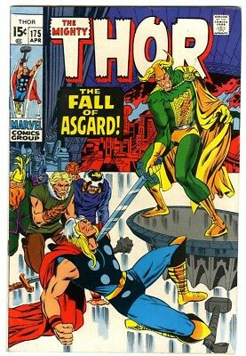 Thor #175 (1970) Fine+ Marvel Comics