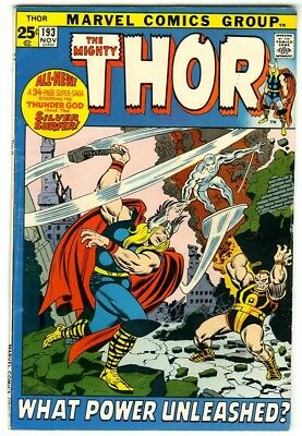 Thor #193 (1971) Fine Marvel Comics