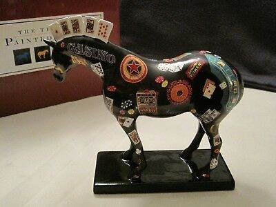 Trail of Painted Ponies Five Card Stud Figurine #1459 Westland Retired Horse NIB