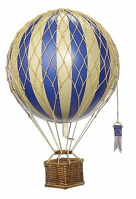 Travels Light Hot Air Balloon Blue - Authentic Models - Air Balloon Decorations