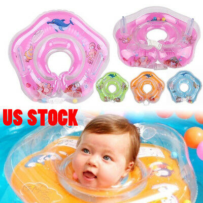 US Newborn Baby Child Swimming Neck Float Ring Safety Bath Circle High Quality