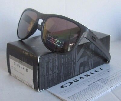OAKLEY steel/PRIZM DAILY POLARIZED SLIVER R OO9342-08 sunglasses! NEW IN BOX!