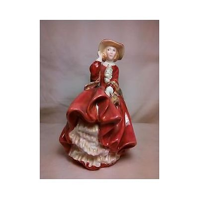 Vintage Royal Doulton Top O The Hill Lady Figurine HN 1849 c1937 England Mint