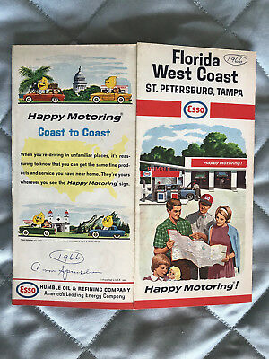 Esso Humble Oil & Ref. Co. – Florida West Coast, St. Petersburg, Tampa 1966