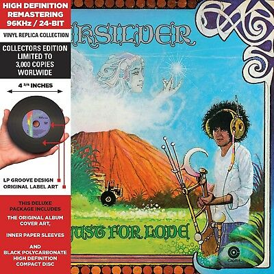 QUICKSILVER MESSENGER SERVICE - JUST FOR LOVE  Collector's Edition CD NEU
