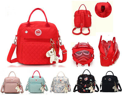 New Multi-function Tote Cross Body Backpack Baby Nappy Changing Bag Diaper Bag
