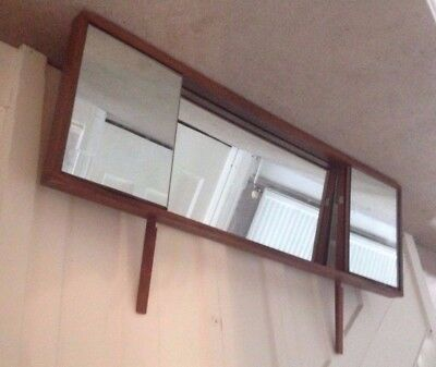 Mirror for Vintage retro desk / dressing table mid-century Danish G-Plan style