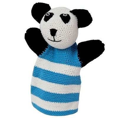 Rico Design Crochet Kit Paul Panda Glove Puppet contains Yarn, Hook & Pattern