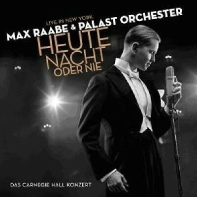 "Max Raabe & Palast Orchester ""heute Nacht Oder Nie Live In Ny"" 2 Lp Vinyl Neu"