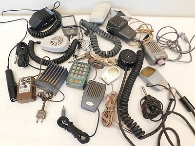 Vintage Old Antique Miniature Microphone Blowout Sale All For One Low Price