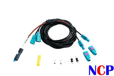 Bmw 5 Series E61 2004> Antenna Amplifier Cable Repair Kit Rear Tailgate Loom Lh