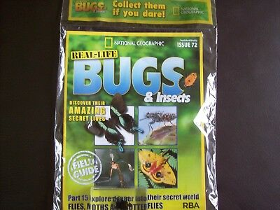 National Geographic Real-life Bugs & Insects magazine Issue 72