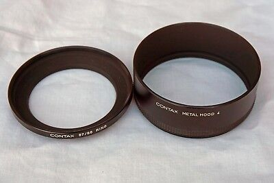 Contax Slr Hood 4 With 67/86Mm Ring