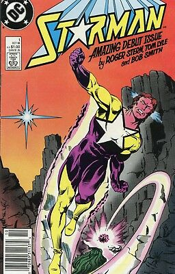 Starman #1 VF- 7.5 1988 DC See My Store