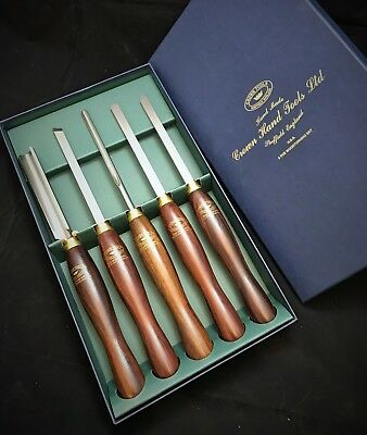 CROWN HAND TOOLS LTD - H.S.S. Woodturning Sets