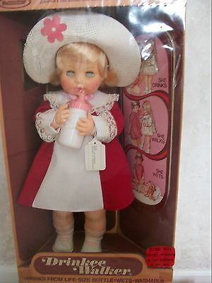 Haunted?? Vintage Horsman Walker/Drinkee  Doll (Error In Recording) (NIB) (0299)