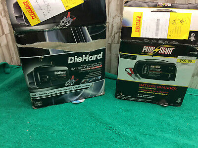DieHard 50A Shelf Battery Charger & Engine Starte And Plus Start Battery Charger