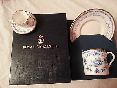 Royal Worcester Commemorative Mug ~ The Royal Baby 1982 ~ Prince William