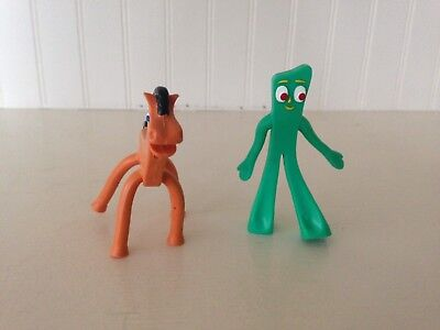 Small Gumby Pokey Figure Character Toys Bendable Posable Prema Toy NJCroce Co.