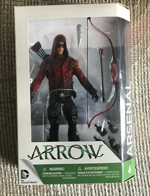 Arrow Roy Harper Arsenal Action Figure Cw Tv Show Dc Comics New Moc
