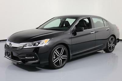 2017 Honda Accord Sport Sedan 4-Door 2017 HONDA ACCORD SPORT SEDAN AUTOMATIC REAR CAM 11K MI #109445 Texas Direct