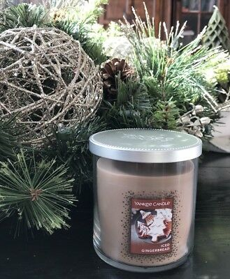 Yankee Candle 7-Ounce Tumbler Iced Gingerbread Scented Candle NWT