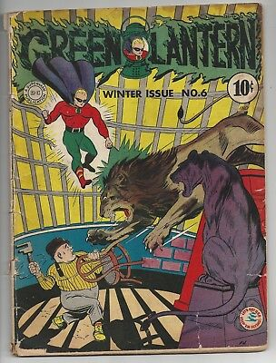 Green Lantern #6 Off-White pages! 1946
