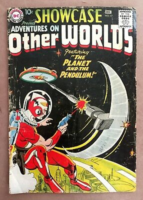 1958 DC Comics Showcase # 17 Adventures of Other Worlds 10c PLANET Silver Age