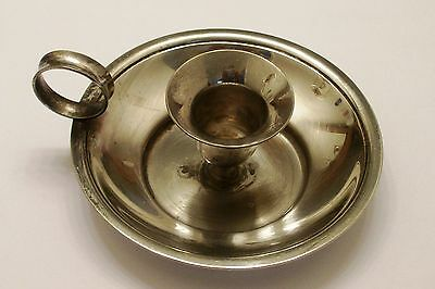 Glenmark Silverplated Candleholder, Made In Hong Kong