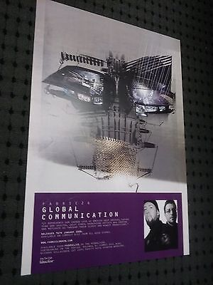 POSTER by GLOBAL COMMUNICATION fabric live 26 promo For the dj release cd album
