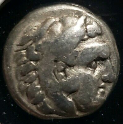 Ancient Greek Kalatis Thrace 300-250BC. Silver Hemidrachm. 3.1 grams