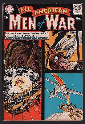 All American Men of War #97 VG 4.0 Off White Pages