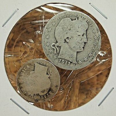 Nice Lot Of 2 United States Coins (Nice Addition To Your Collection).....#13389