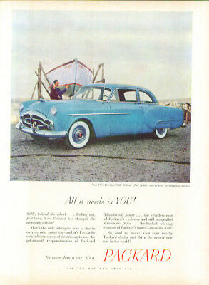 All it needs is YOU! Packard 200 ad 1951