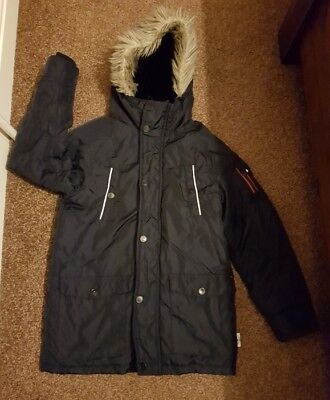 Boys Next Padded Parka, Has Wear & Tear, Easy To Mend, Size 10 Years Old!!!