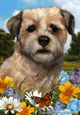 Garden Indoor/Outdoor Summer Flag - Border Terrier 181221