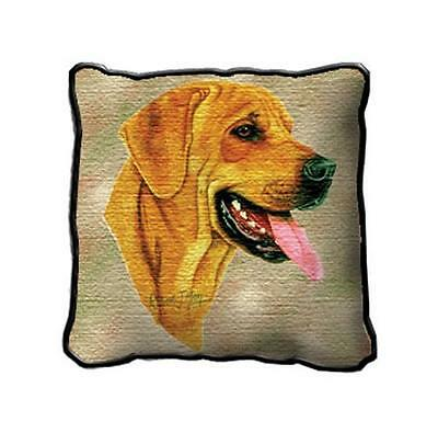 "17"" x 17"" Pillow - Rhodesian Ridgeback by Robert May 1943"