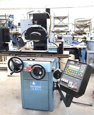 K.O. Lee 6 x 18 Automatic Precision 3 Axis Surface Grinder with 1000 Controller