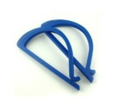 Sew Easy Quilters Roll Clip x 2 ER185 Smooth Plastic Retains Tension 165 x 80 mm